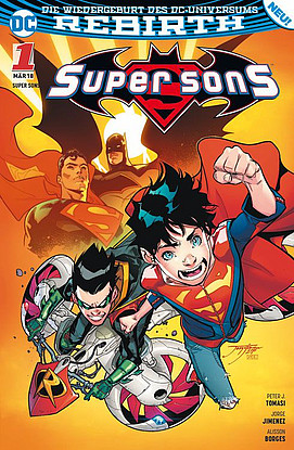 Super Sons - Band 1: Familienzoff